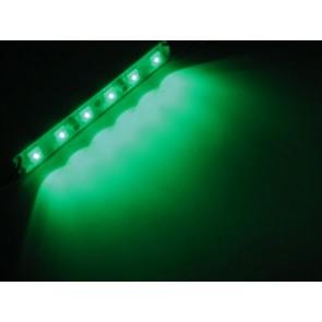 Waterdichte groene LED strip 12,7 cm 12 V 6 Hyperflux LED