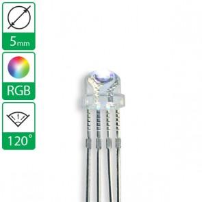 Full color LED 120 graden 5mm CC