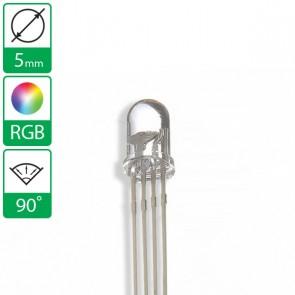 Full color LED 90 graden 5mm CC