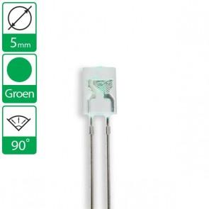 Groene LED 90 graden 5mm