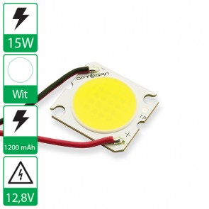 15 Watt COB power LED wit 6500K