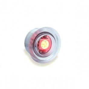 Inbouw mini dot rood
