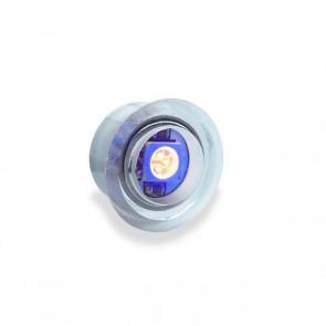 Inbouw mini dot blauw