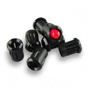 25x 5 mm LED Houder Plastic