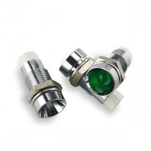 5mm. LED Houder Metaal verzonken