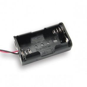 2x AA Batterij houder