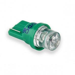T10 Concave LED Vervanger (groen) 2 stuks