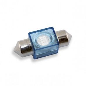 Festoon 36 mm. LED Vervanger (blauw)