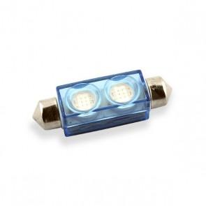 Festoon 42 mm. LED Vervanger (blauw)