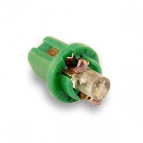 B8.5D LED Vervanger (groen) plat