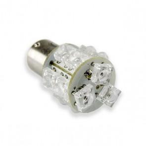 BA15S LED Vervanger (oranje) 13 hyperflux LEDs