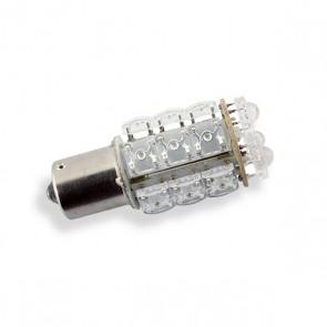 BAY15D LED Vervanger Blauw 18 LEDs