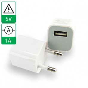 Voeding 5V 1A USB WIT