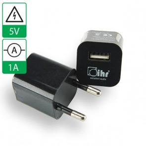 Voeding 5V 1A USB ZWART