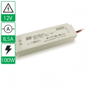 12V 8,5A 100W Mean well voeding LPV-100-12