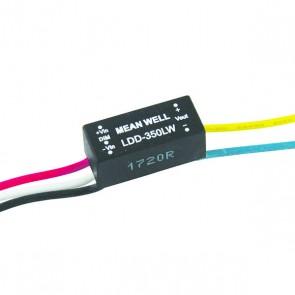 350mA powerLED aansturing met aansluitkabels (dimbaar)