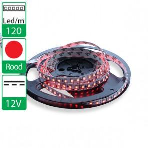 1m 120 Leds 12V SMD flexibele LED strip rood