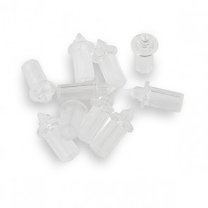 10 stuks Eindstuk tb.v. 0,75/1,5 mm. vezels