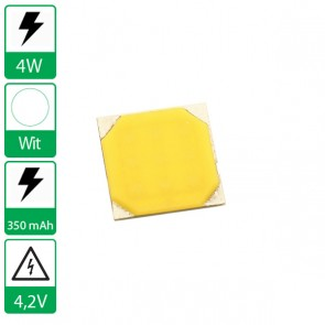 4 Watt COB power LED wit 4000K