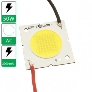 50 Watt COB power LED koudwit 6500K