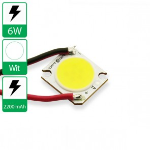 6 Watt COB power LED wit 6500K