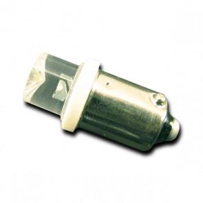 BA9S Concave LED Vervanger (rood) 2 stuks