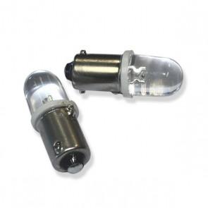 BA9S LED Vervanger (wit) 2 stuks