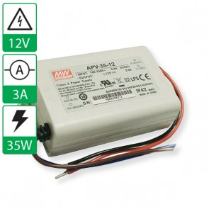 12V 3A 35W Mean well voeding APV-35-12