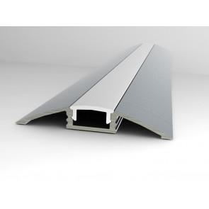 Flat line 1 meter aluminium