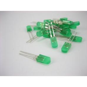Groene low cost LED (25 stuks)
