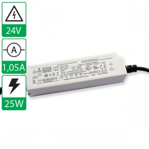 24V 1,05A 25W Mean well voeding LPF-25-24