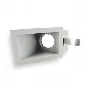 MR16/GU5.3 langwerpig verzonken plafond armatuur kantelbaar