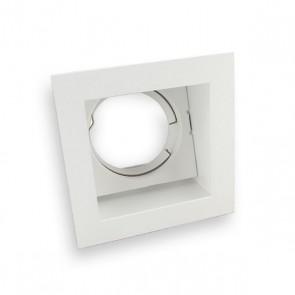 MR16/GU5.3 vierkant verzonken plafond armatuur kantelbaar