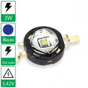 3 watt P4 seoul semiconductor BLAUW
