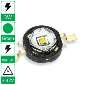 3 watt P4 seoul semiconductor GROEN