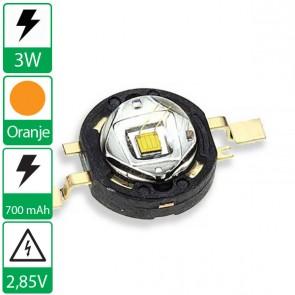 3 watt P4 seoul semiconductor ORANJE