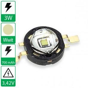 3 watt P4 seoul semiconductor WARM WIT