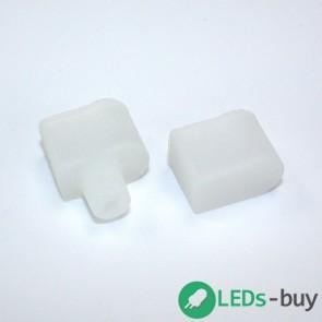 Begin- en eind-stukken tbv siliconen sleeve, 10 stuks