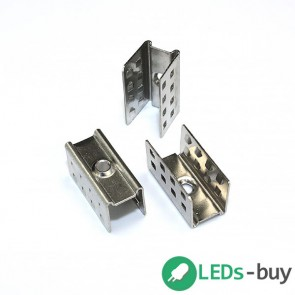 Montagebeugels tbv siliconen sleeve, set van 10 beugels