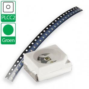 Groene OSRAM PLCC2 SMD LED